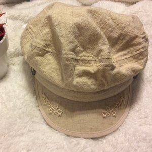 Kangol Woman's Beige Floral Fisherman's Cap